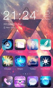 Nebula Theme - ZERO Launcher poster