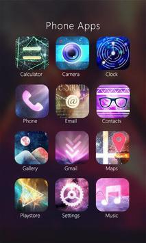 Nebula Theme - ZERO Launcher apk screenshot