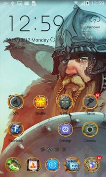 Norse Mythology ZERO Launcher poster