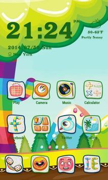 Outdoor Theme - ZERO Launcher poster