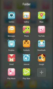 Pretty ZERO Launcher apk screenshot