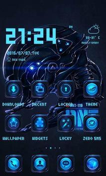 Robot Theme - ZERO Launcher poster
