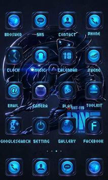 Robot Theme - ZERO Launcher screenshot 1