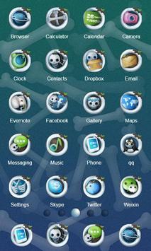 Skeleton ZERO Launcher apk screenshot
