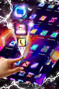 Heart on Fire Launcher Theme screenshot 4