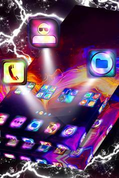 Heart on Fire Launcher Theme screenshot 1