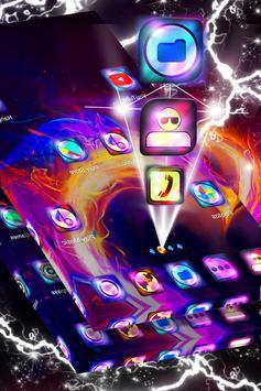 Heart on Fire Launcher Theme screenshot 2
