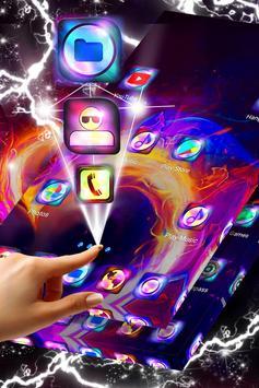 Heart on Fire Launcher Theme screenshot 3
