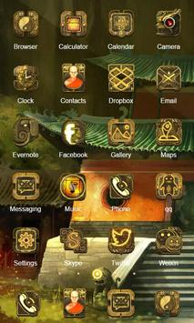 Zen Design Launcher Theme apk screenshot