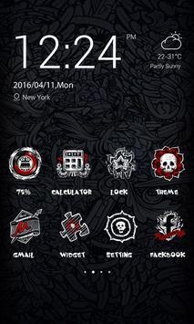 Bomb Theme - ZERO Launcher poster