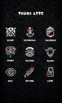Bomb Theme - ZERO Launcher apk screenshot