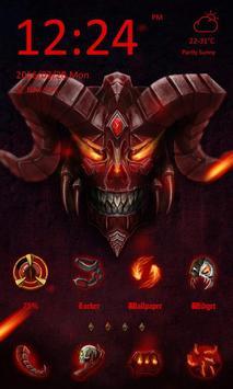 Devil Theme-ZERO Launcher poster