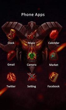 Devil Theme-ZERO Launcher apk screenshot