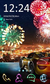 Fireworks Theme -ZERO Launcher poster