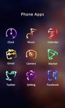 Fireworks Theme -ZERO Launcher apk screenshot