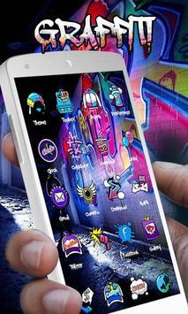 Graffiti Theme - ZERO Launcher poster