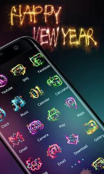 Happy New Year 2018 - ZERO Launcher poster