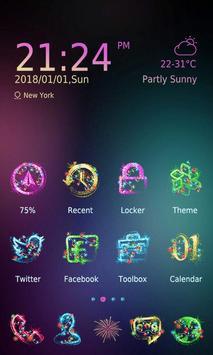 Happy New Year 2018 - ZERO Launcher screenshot 1