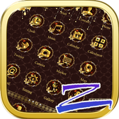 Luxury Gold Theme-ZEROLauncher icon