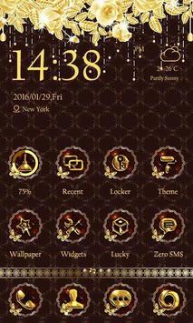 Luxury Gold Theme-ZEROLauncher poster
