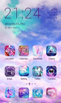 Milky Way Theme -ZERO Launcher poster