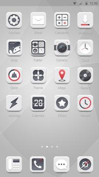 CM White - ZERO Launcher screenshot 2