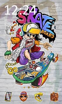 Skate Board - ZERO Launcher poster