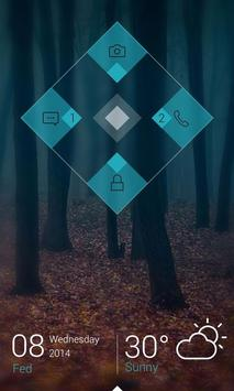 Lozenge Locker Theme apk screenshot
