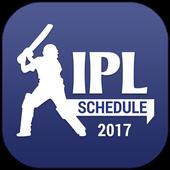 T20 Cricket IPL Schedule 2017 icon