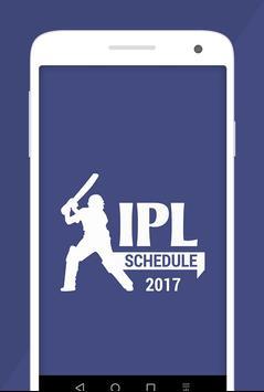 T20 Cricket IPL Schedule 2017 poster