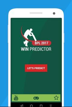 Win Predictor BPL T20 Cricket apk screenshot