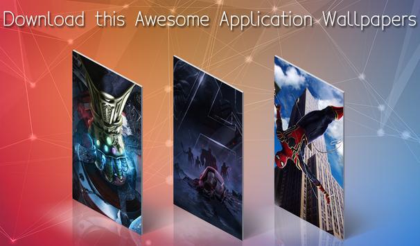 Superhero Infinity War Wallpapers screenshot 4