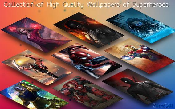 Superhero Infinity War Wallpapers screenshot 1