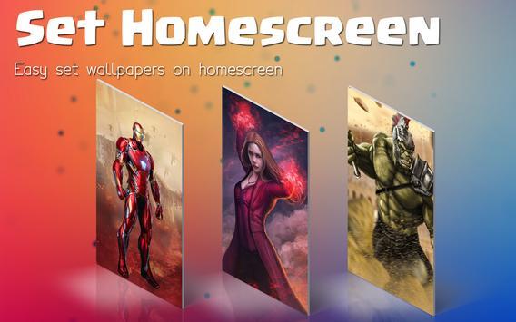 Superhero Infinity War Wallpapers screenshot 3