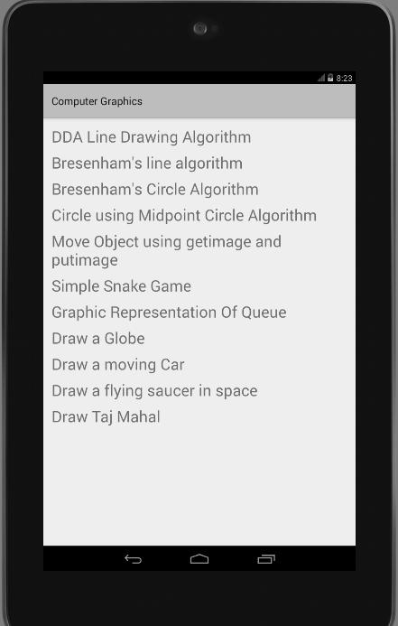 Computer Graphics for Android - APK Download
