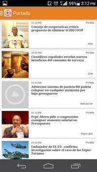 Noticias Dominicanas apk screenshot
