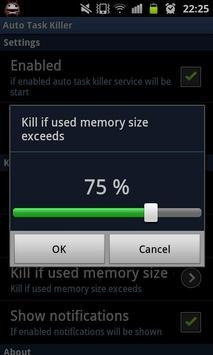 Auto Task Killer screenshot 4