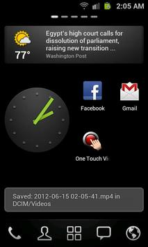 One Touch Video Recorder apk screenshot
