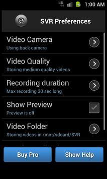 Secret Video Recorder apk screenshot