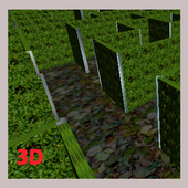 The scary maze 3D icon