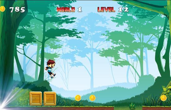 Funny Running Jungle Adventure screenshot 3