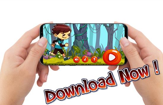 Funny Running Jungle Adventure screenshot 1