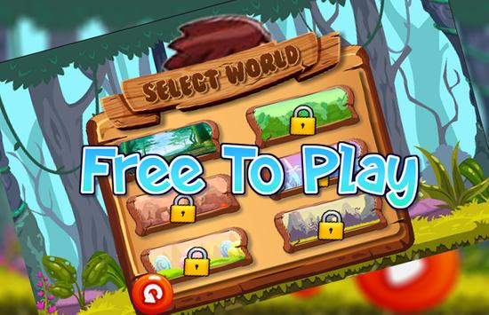 Funny Running Jungle Adventure screenshot 2