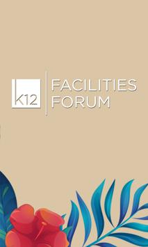 K12 Facilities Forum poster