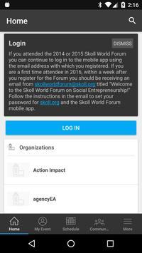 Skoll World Forum 2017 apk screenshot
