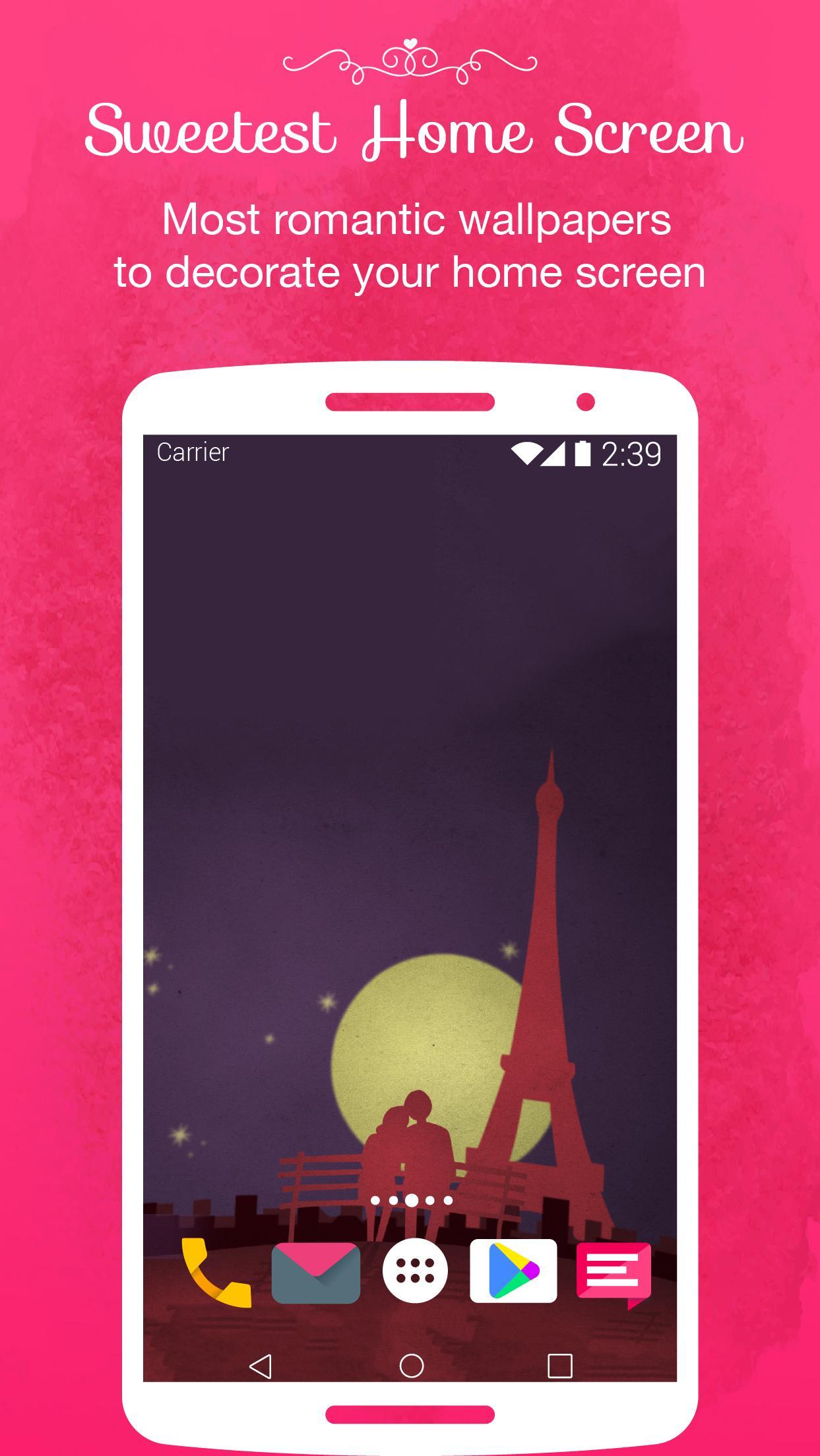 440 Cute Romantic Wallpaper Download For Mobile HD Terbaru