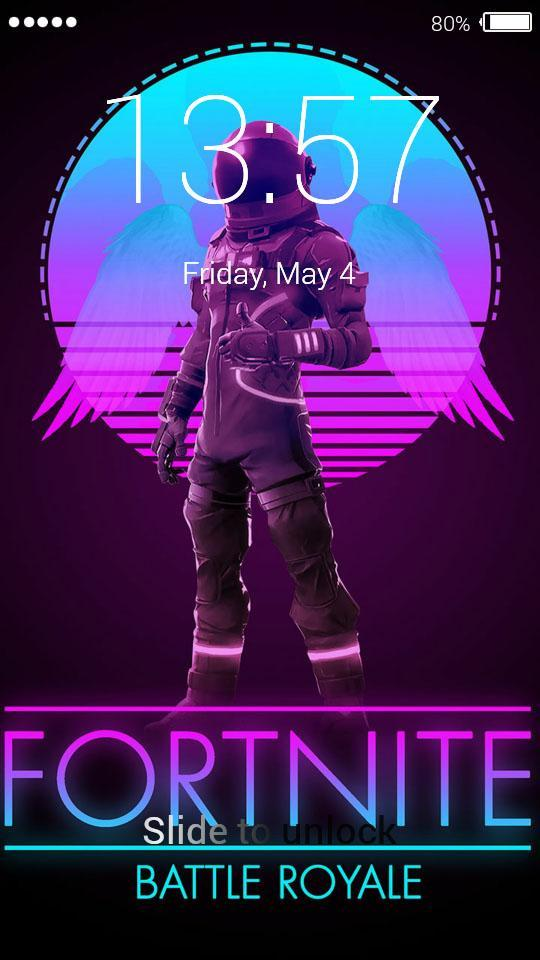 Fortnite Astronaut Lock Screen For Android Apk Download