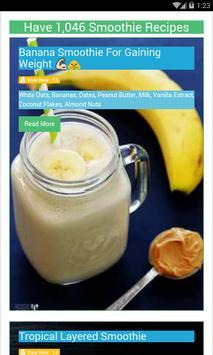 Healthy Smoothie Recipes screenshot 1