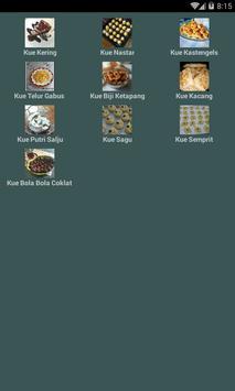 Resep Kue Kering Terlengkap poster