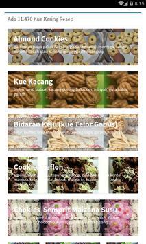 Resep Kue Kering Terlengkap screenshot 1